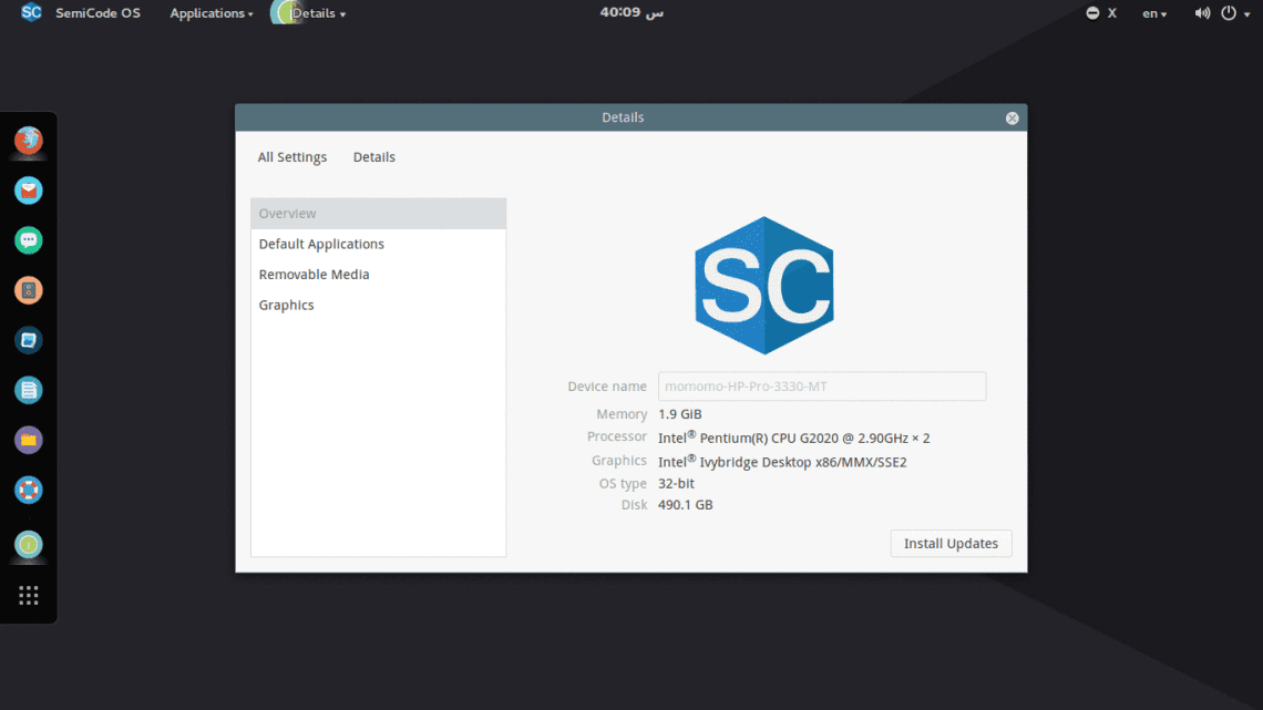 SemiCode OS for programmers and web developers