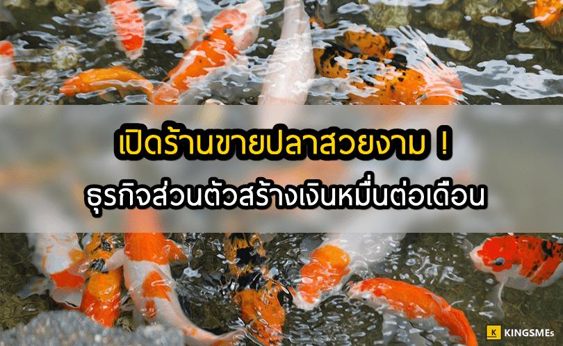 เปิดร้านขายปลาสวยงาม