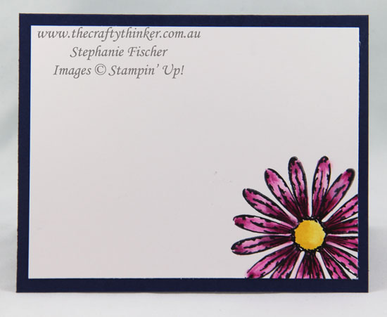 2017-18 Annual Catalogue, Sneak Peek, Daisy Delight, Hexagons, Embossing, #thecraftythinker, Stampin' Up Australia Demonstrator, Stephanie Fischer, Sydney NSW