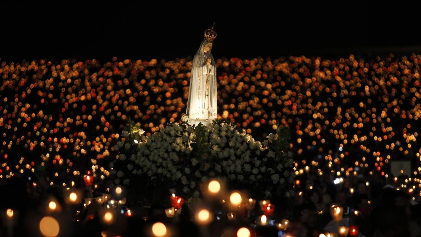 Viva A Nossa Senhora De Fatima Conheca A Historia Da Senhora Do