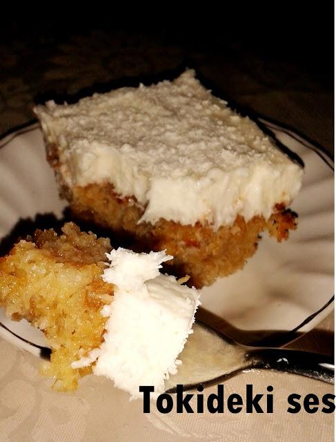 Kıbrıs tatlısı (bayat ekmekli)