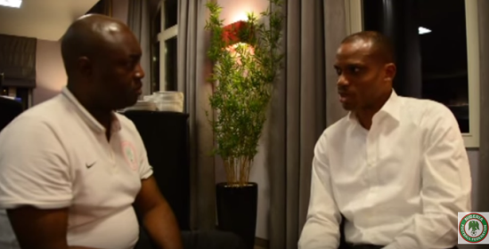 Sunday Oliseh explains his side of the story in the Vincent Enyeama bust up,