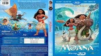 Moana - Bluray 3D