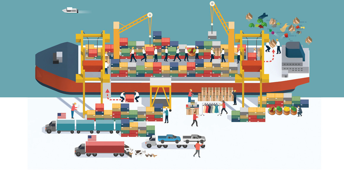 Global Trade illustration