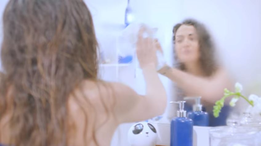 Modella Nivea pubblicità Giorgia Palmas: addio effetto occhi a panda! con Foto - Testimonial Spot Pubblicitario Nivea 2017