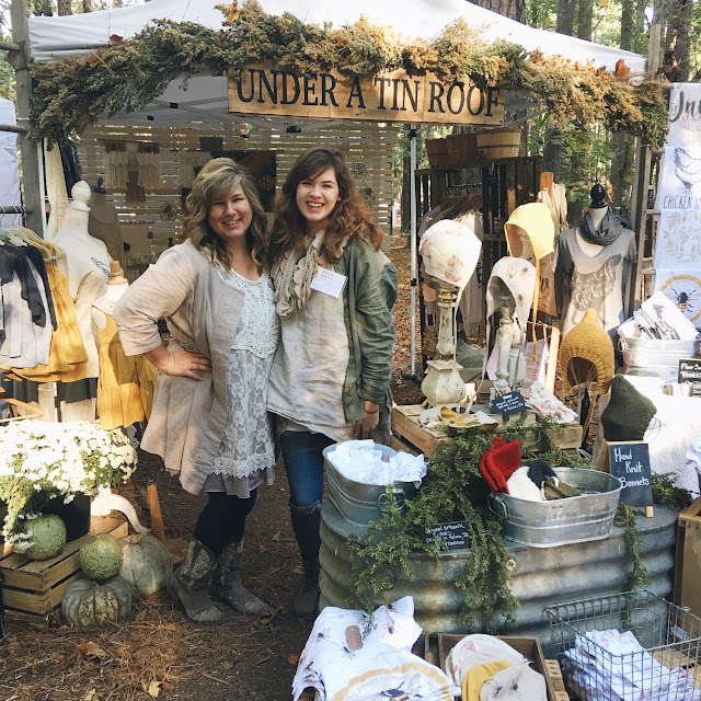 Under a Tin Roof, Jill Haupt, Kayla Haupt, Country Living Fair