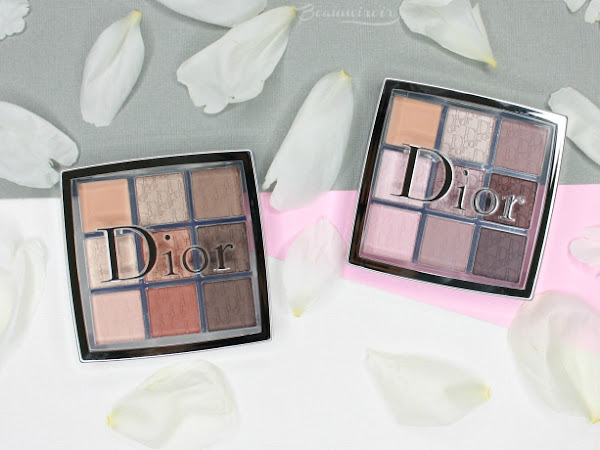 #FrenchFriday : New Dior Backstage Eye Palettes - Cool Neutrals Review