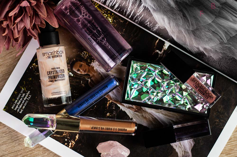 Smashbox x The Hoodwitch Crystalized Collection Flatlay