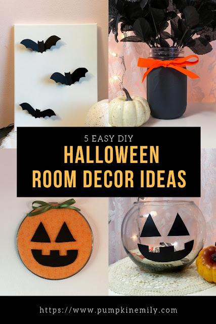 5 Easy DIY Halloween Room Decor Ideas