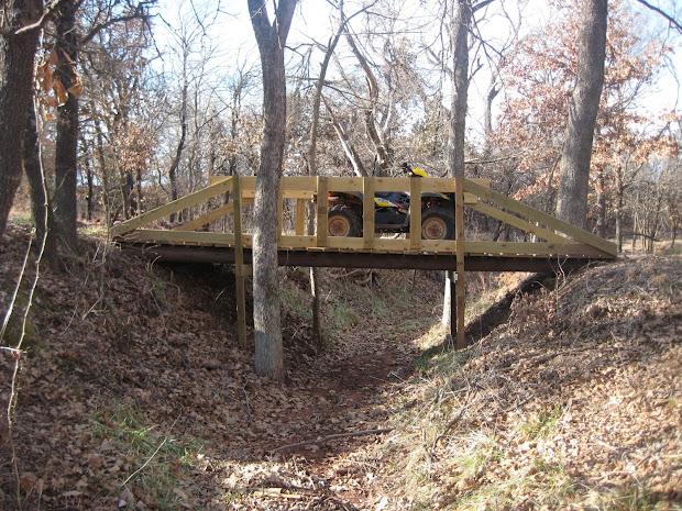 Building Small Bridge Over Creek