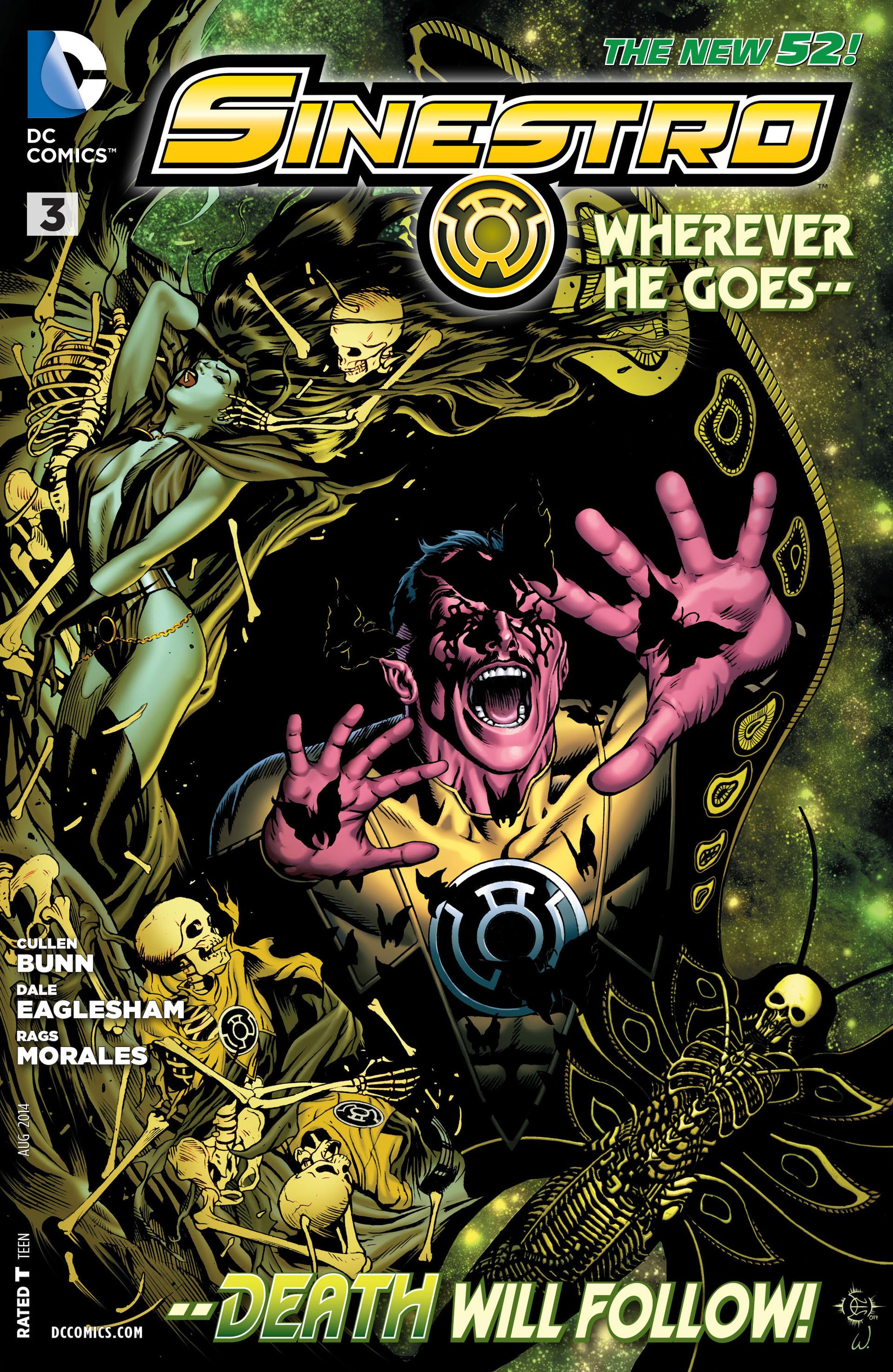 Read online Sinestro comic -  Issue #3 - 1