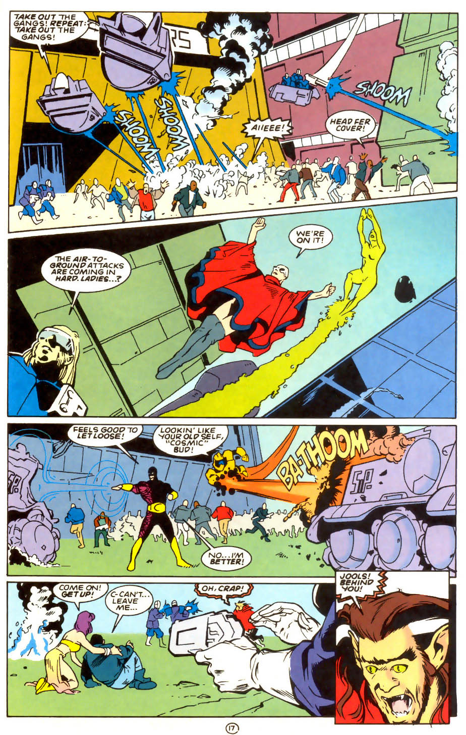 Legion of Super-Heroes (1989) 56 Page 17