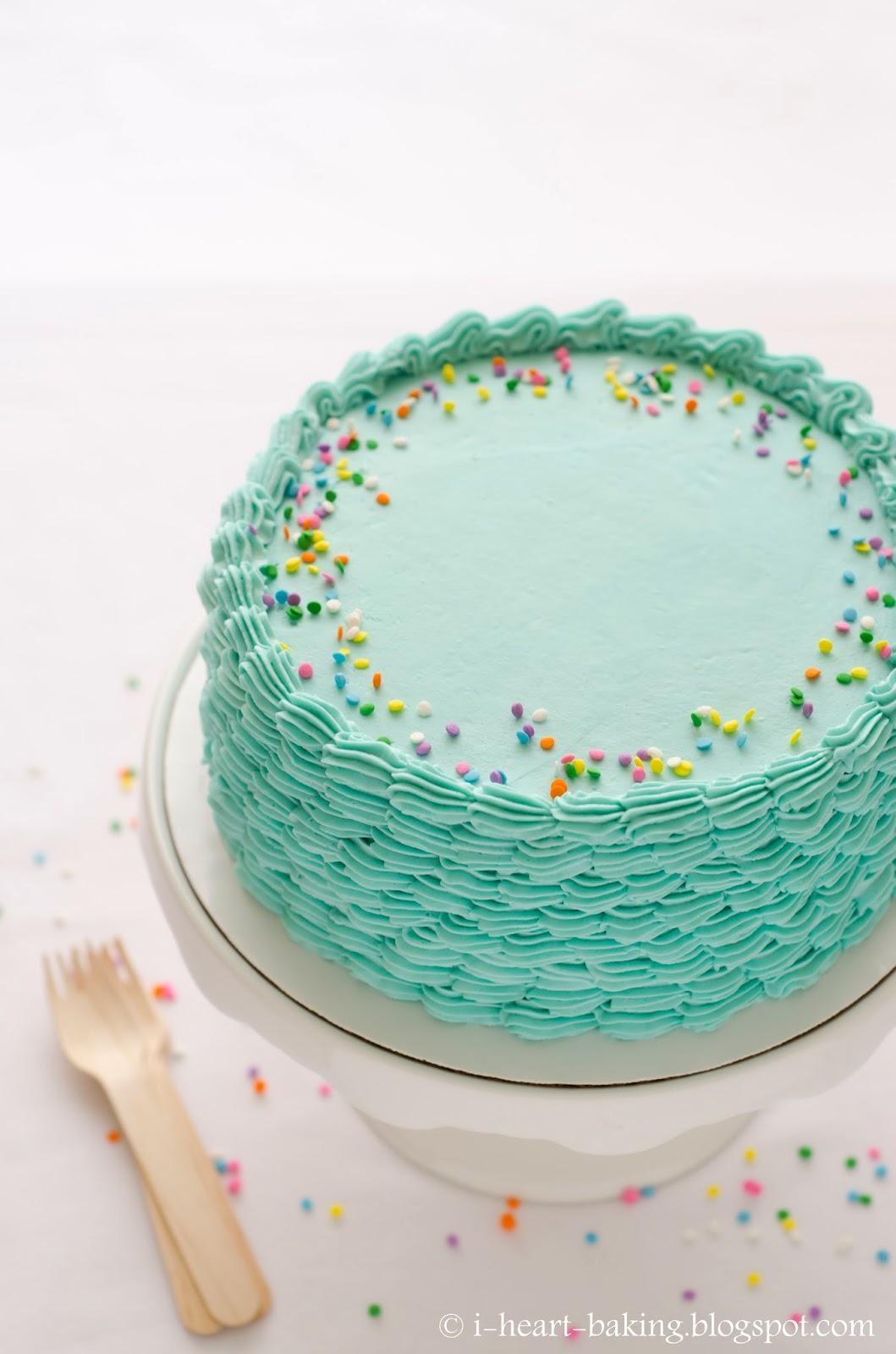 Inch Round Cake Decorating Ideas