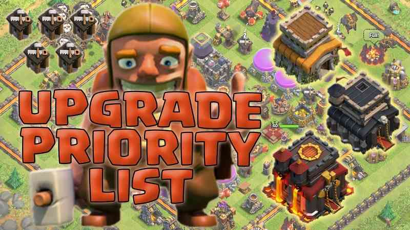 best clash of clans town hall 5 upgrade priority guide strategy