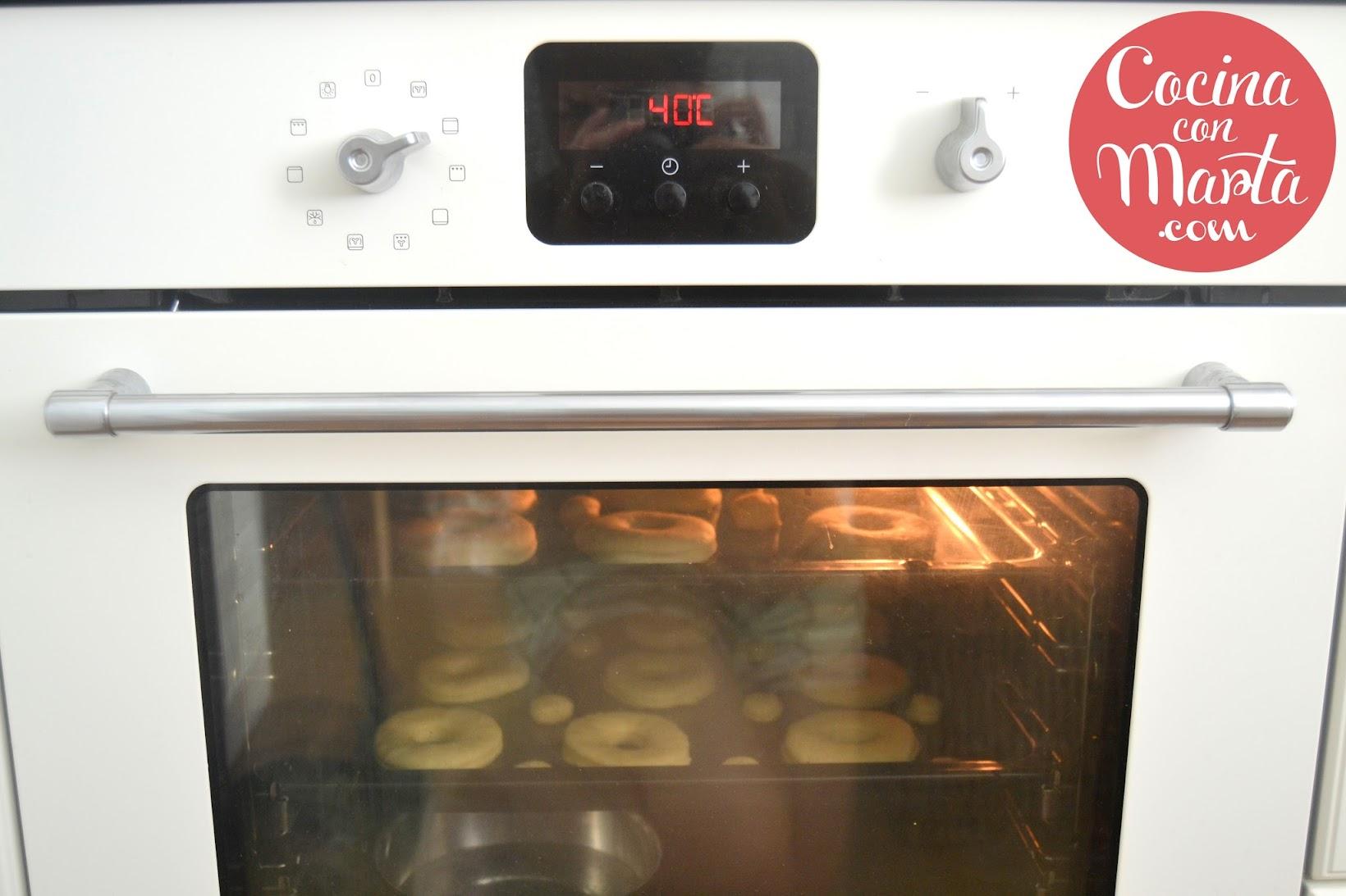 Receta donuts o berlinas caseros. Fácil, sencillo, video, paso a paso. Cocina con Marta