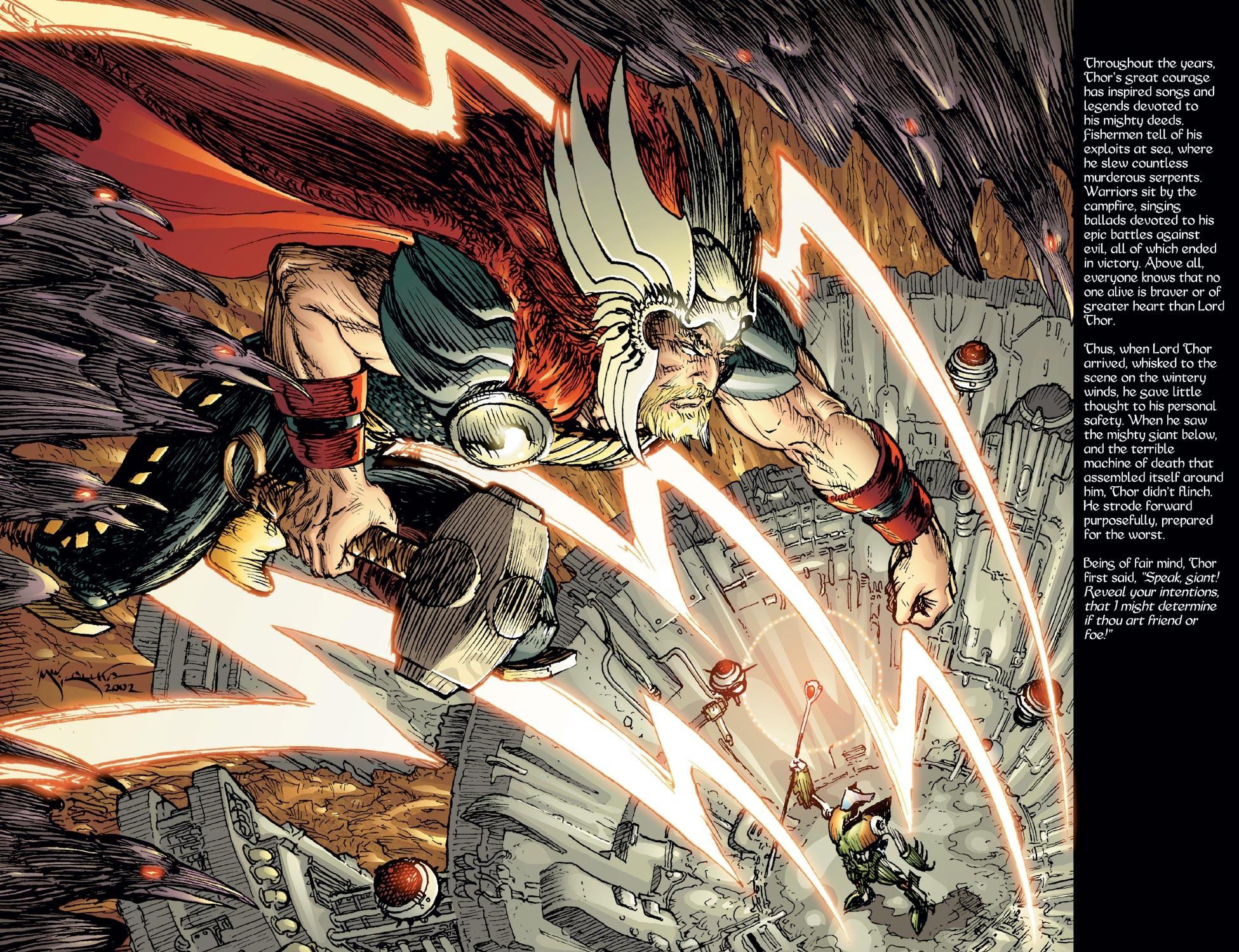 Thor (1998) Issue #57 #58 - English 6