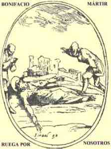 Resultado de imagen para SAN BONIFACIO o WINFRIDO, Obispo y Confesor
