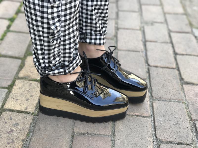 chaussure plateforme like Stella Mc Cartney