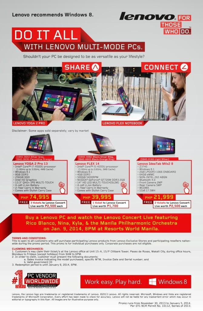 Lenovo Multi-Mode Promo