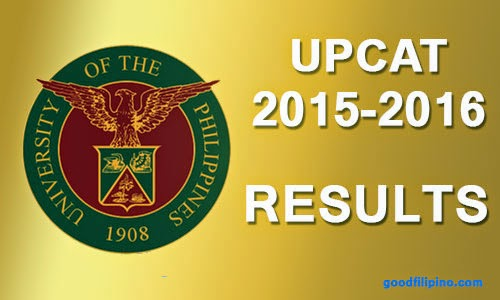 List of Passers: UPCAT 2015-2016 Results Release Date