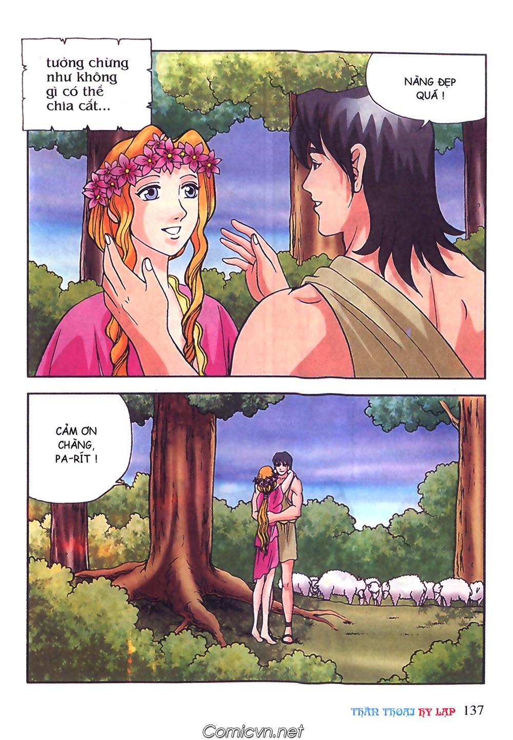 Thần Thoại Hy Lạp Màu - Chapter 50: Hoàng tử Pa rít - Pic 14