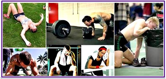 Causas que te hacen querer vomitar cuando entrenas o practicas algún deporte