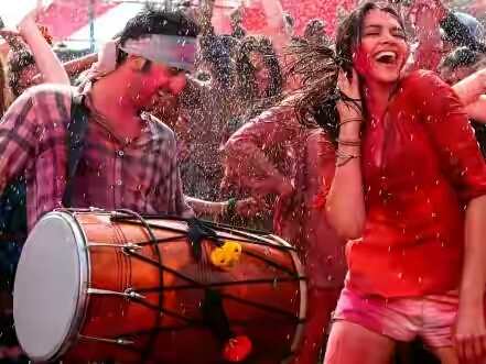 holi celebrations ranveer-deepika