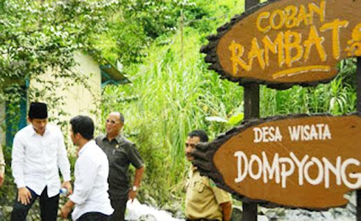 Pesona Wisata Desa Dompyong, Trenggalek
