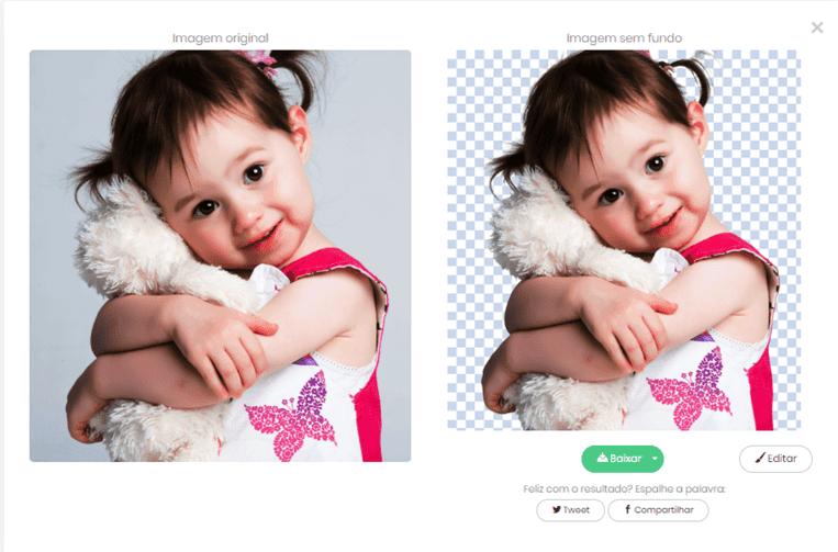Remove qualquer fundo de uma imagem