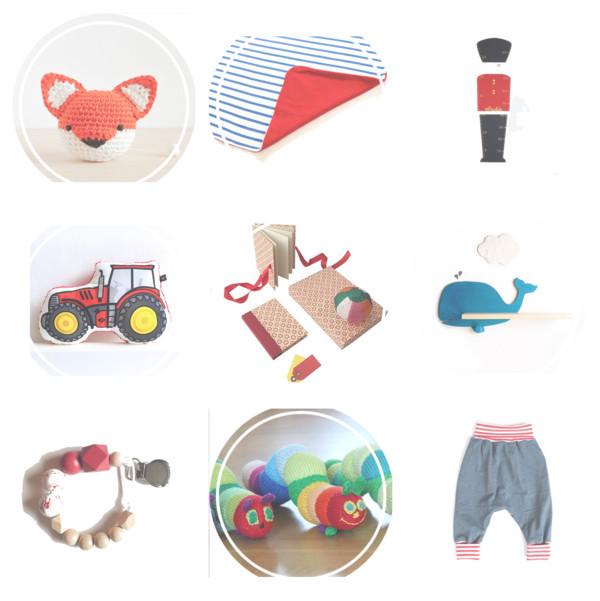 Geschenkideen für Babys von kleinen Manufakturen