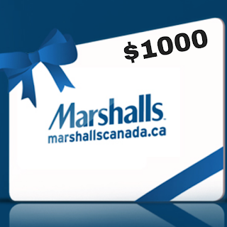 Win a FREE $1000 Marshalls Shopping Spree