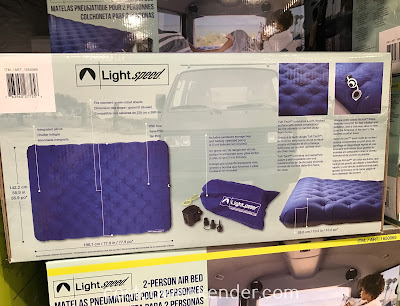 Costco 1650069 - Lightspeed Outdoors 2-person Airbed can sleep 2 people comfortably