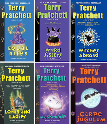 Discworld - Witches Series by Terry Pratchett