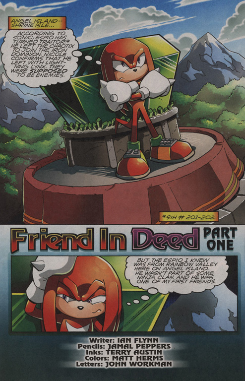 Read online Sonic The Hedgehog comic -  Issue #203 - 19