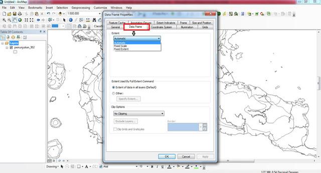 Cara Mudah Mengatur Skala Peta Saat Membuat Peta di ArcGis