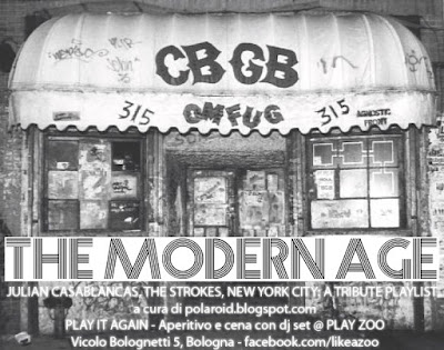 The Modern Age - a tribute playlist