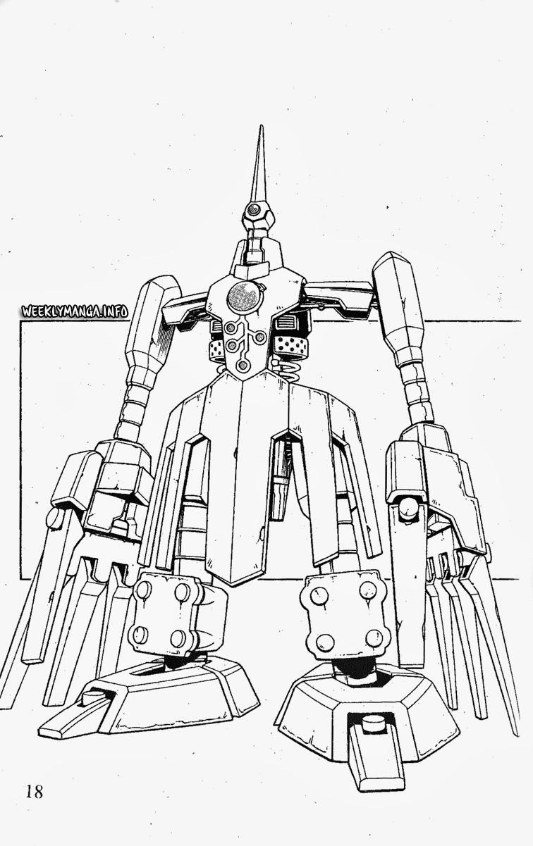Shaman King [Vua pháp thuật] chap 191 trang 19