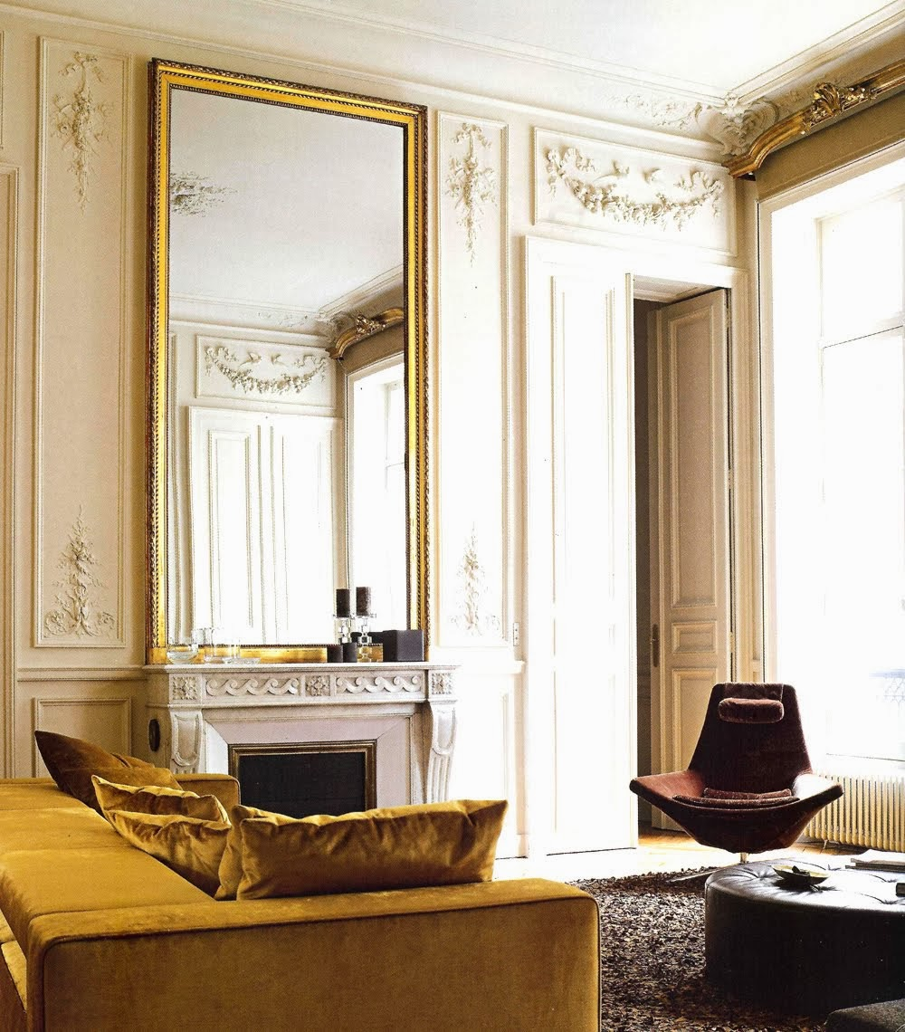 Decor inspiration sumptuous spaces paris cool chic for Hotel design france