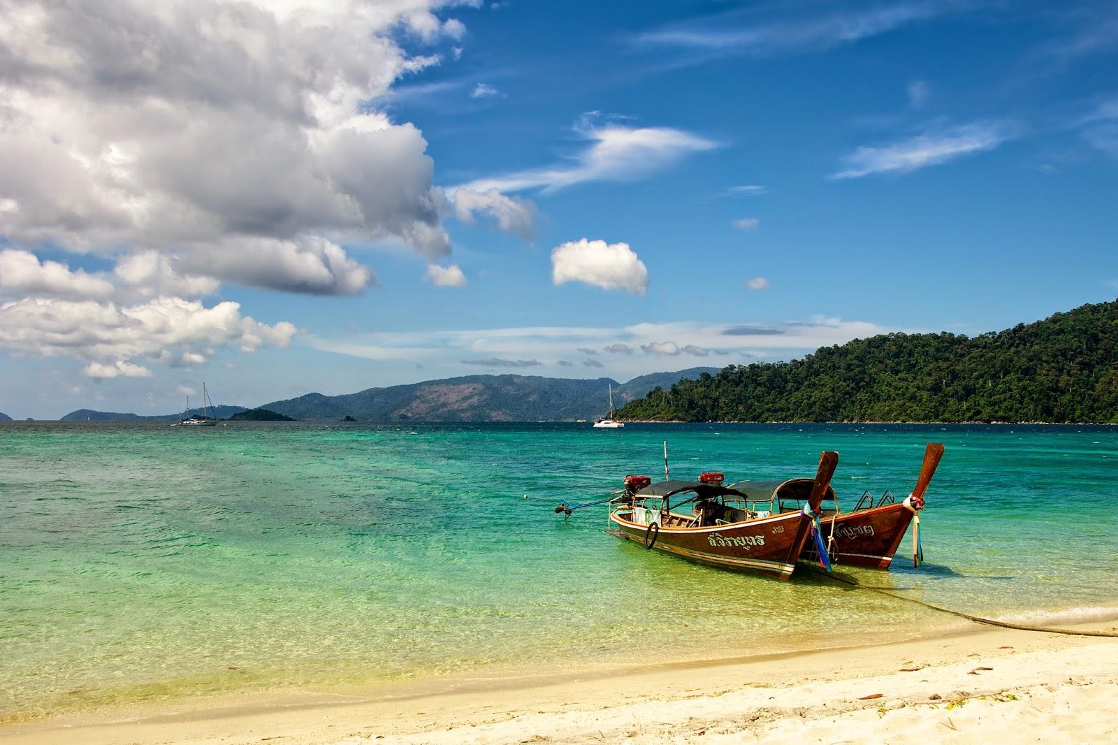 La isla de Koh Lipe y las Koh Tarutao