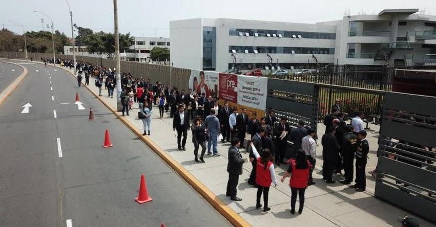 Más de 4 mil profesionales rinden evaluación nacional para ser auditores de la Contraloría General (Resultado Final Martes 19 Noviembre) www.contraloria.gob.pe
