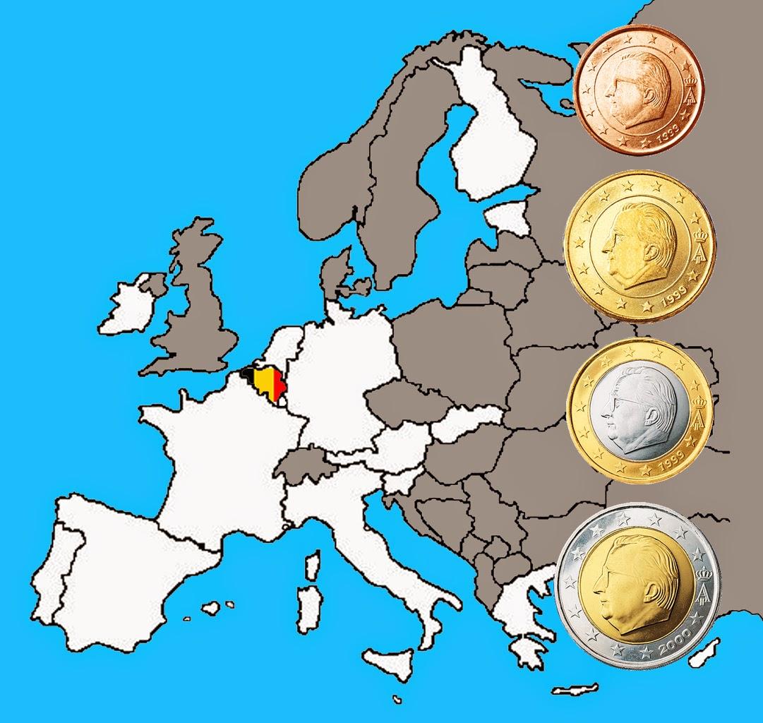 2 Euro Belgique Mes 2euros Commémoratives