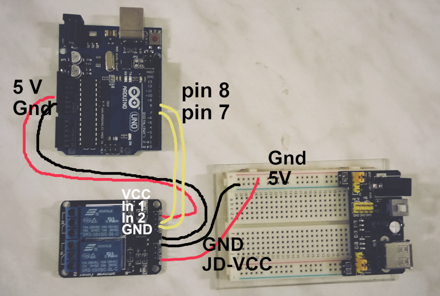 Astonishing Lets Learn Controlling A 2 Channel Relay With Arduino Wiring 101 Eattedownsetwise Assnl