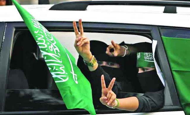 WOMEN DRIVING AGE IN SAUDI ARABIA