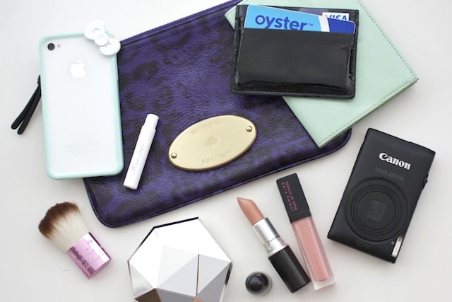 What's in my Clutch Bag?
