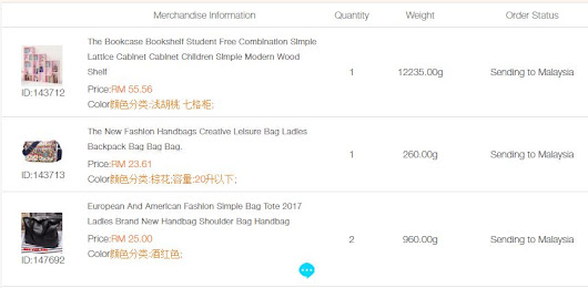 SGShop : Sending To Malaysia
