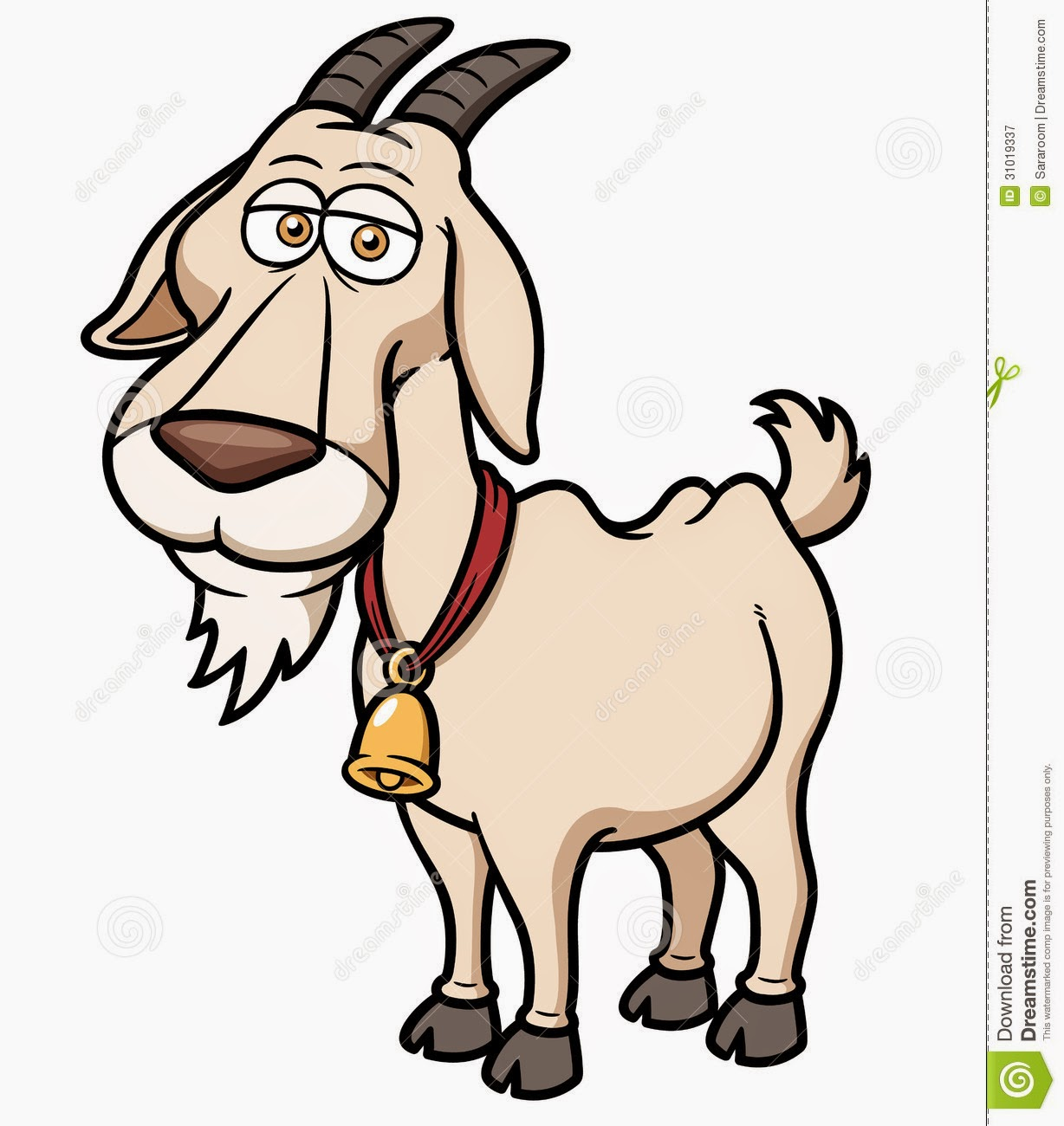 Cute Goat Clipart The Peeled Onion March 2015