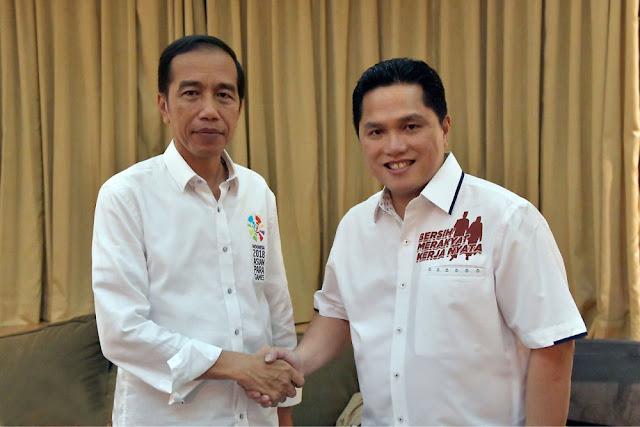 PKS: Lahan Erick Thohir Jauh Lebih Banyak dari Prabowo