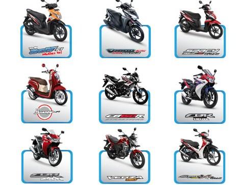 Istana Harga Daftar Harga Motor Honda Terbaru 2016