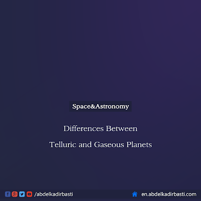 Differences Between Telluric and Gaseous Planets