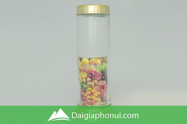 Bình Ngâm Rượu Việt Nam (Phú Hòa Glass) Hình Trụ/Ống - Dai Gia Pho Nui